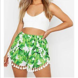 Tropical Tassel Shorts